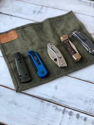 Сумка для 5 складных ножей Knife to meet you BAG-FIVE