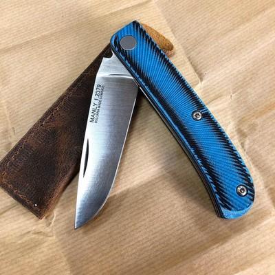 Складной нож Manly Comrade Black/Blue