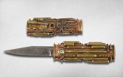 Нож коллекционный Дзицудзюн Намики (Namiki Jitsujun)