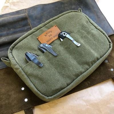 Сумка для 11 складных ножей Knife to meet you BAG-NEC