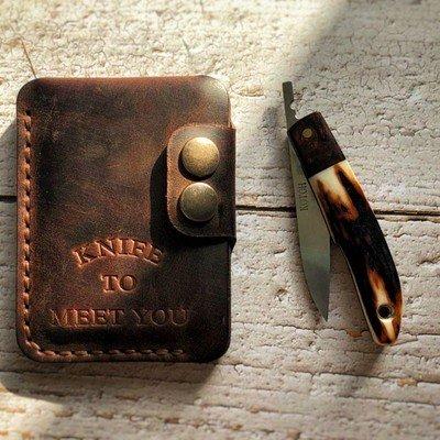 Компактный кошелек Knife to meet you SPR
