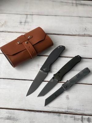 Сумка для 3 складных ножей Knife to meet you bag-roll3