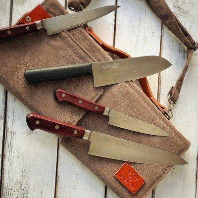 Сумка для 4 кухонных ножей Knife to meet you BAG-QUATTRO