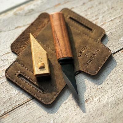 Японский ремесленный нож киридаши Yoshiharu WB-300