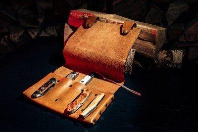 Сумка для 5 складных ножей Knife to meet you BAG-POUCH