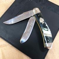 Начинайте неделю с отличных ножей) Например, с этого красавца от @buckknives , созданного совместно с легендарным Wally Marshall. Модель называется Mr. Crappie и выполнена из стали 410J2 с рукоятью из кости. Доступен для заказа! #рыбалка #охота #природа