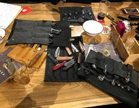 Это было здорово! Алексей @brutalica и Саша @prospbcom , спасибо за организацию, пиво вкусное, ножи интересные, а сумки наши как всегда прекрасны) на фотографии добрая половина текущего ассортимента сумок для складных ножей, все они, а также другие варианты, доступны для заказа на нашем сайте. #русскийножевойинстаграм #knifelife #knifecommunity #русскоеножевоесообщество #knifesale