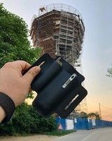 Друзья, мы в отпуске ещё неделю, сразу по возвращению активно берёмся за работу, уже есть несколько идей) на фото наш холдер на фоне водонапорной башни- символа города Вуковар на границе Хорватии и Сербии. #русскийножевойинстаграм